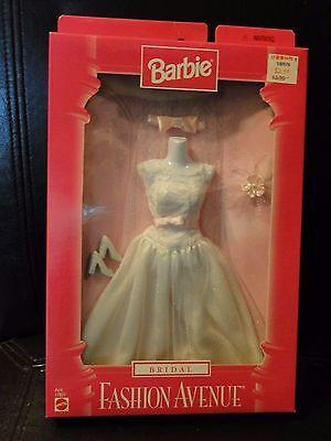 1997 BARBIE BRIDAL FASHION AVENUE BRIDE FASHION #17621 Mint in Box