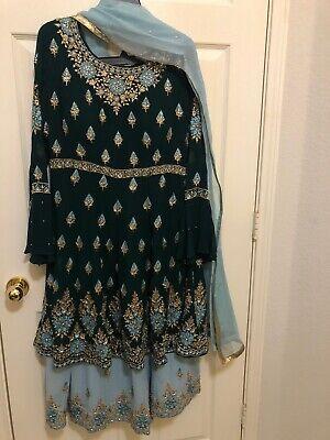 indian pakistani sharara suit plazo suit party wear wedding wear dress Ladies Bridal Suits
