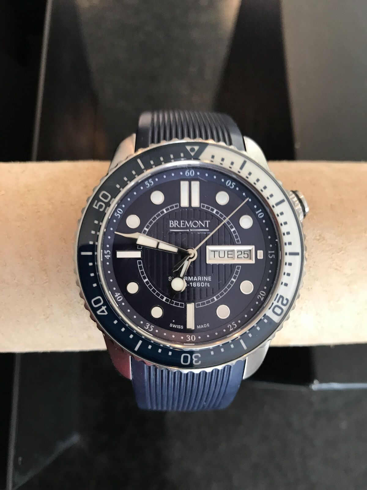 Bremont Luxury Chronometer (Supermarine) S500/BL NEW – NEVER WORN – WARRANTY - watch picture 1