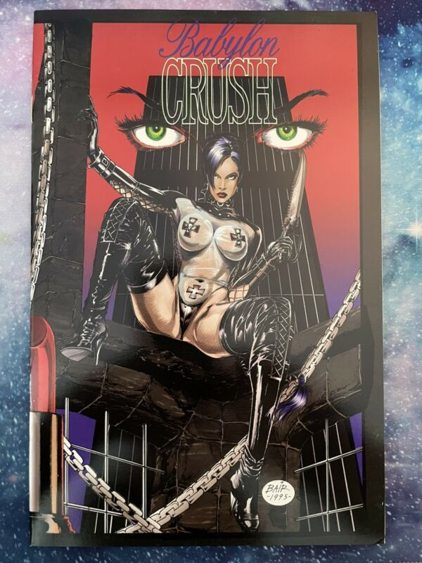 Babylon Crush #1- 1995 Boneyard Press
