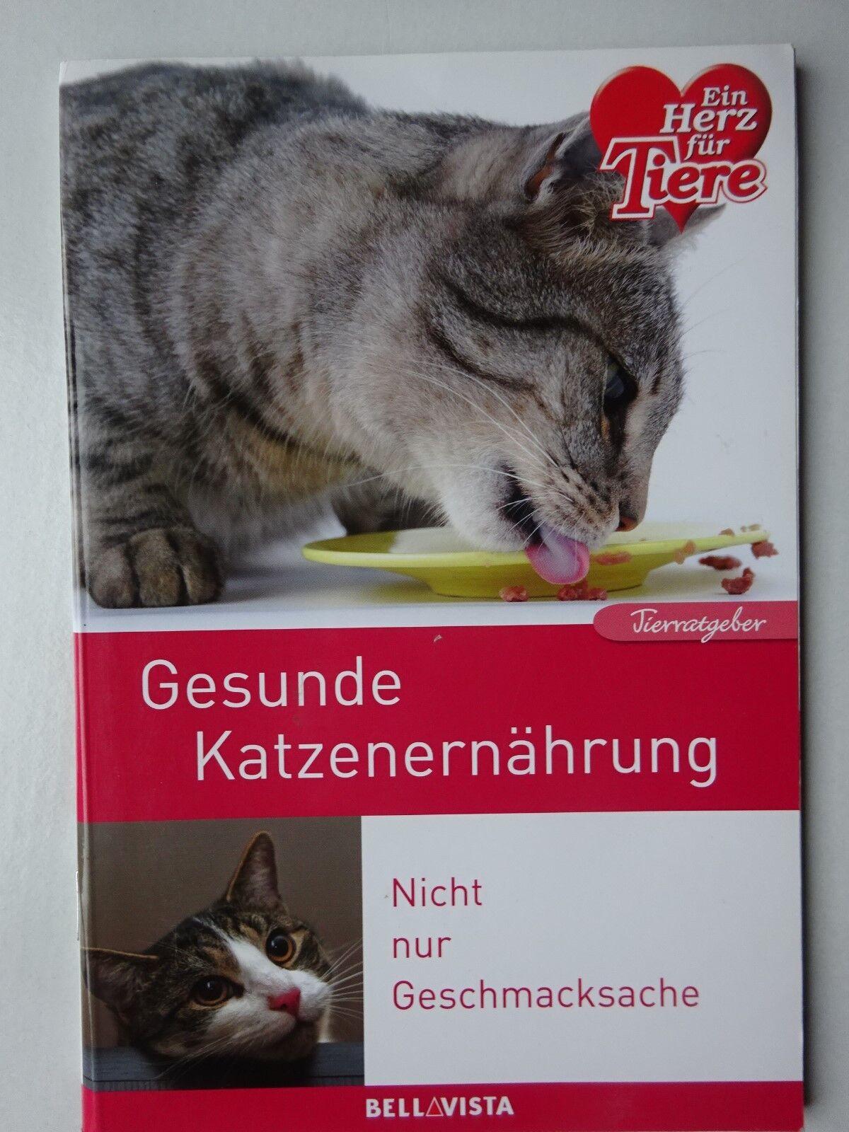 Gesunde Katzenernährung*Tierratgeber*Tipps*Ratgeber*Ein Herz für Tiere*Katze