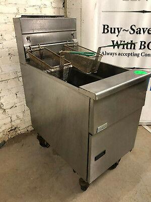 Pitco Frialator Sg18 75 Lb. Deep Fryer