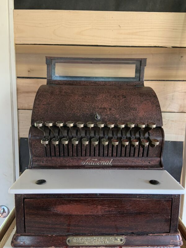 Antique National Cash Register NCR Good Seed Co., Inc 1930's OH/PA/WV