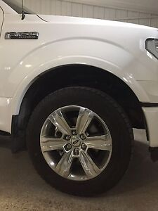 2016 F150 Platinum Tires & Rims with TPMS