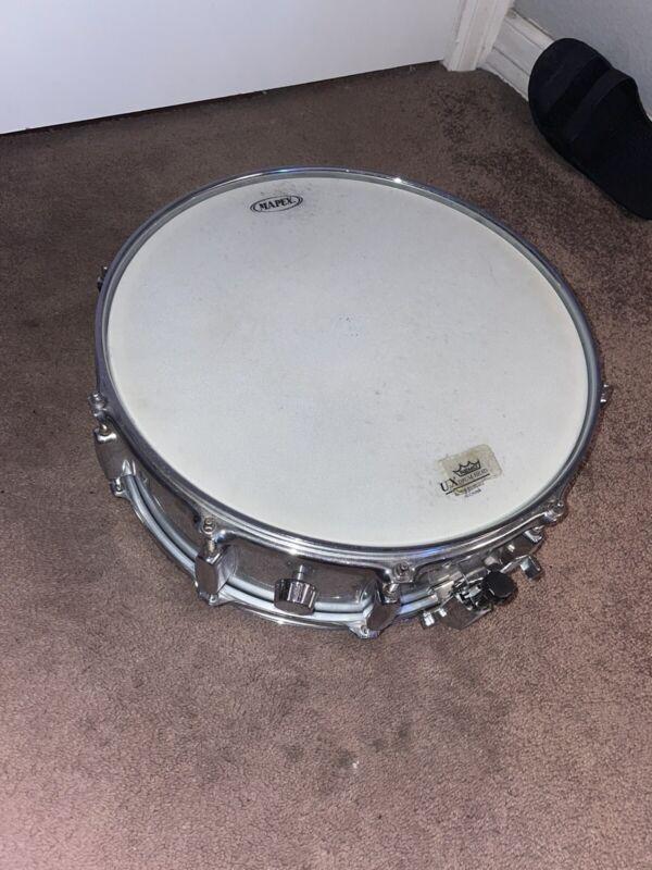 "Mapex 14"" Aluminum snare drum With Heads"