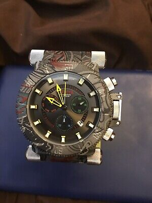 Invicta Coalition Forces Hydroplated Grafiti Steel Chronograph 51mm (New)