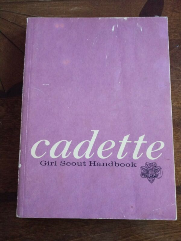 Vintage Girl Scouts of America Cadette Girl Scout Handbook 1974