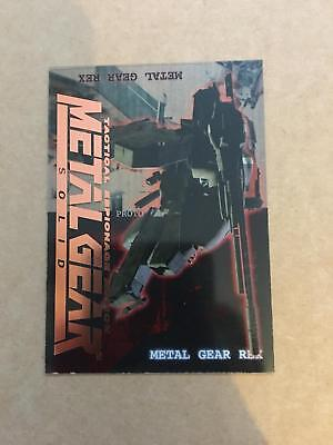 Metal Gear Solid Trading Cards 12