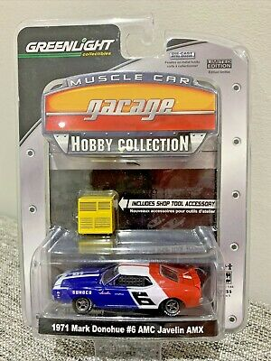 Greenlight Muscle Car Garage Hobby Collection 1971 Mark Donohue #6 AMC Javelin