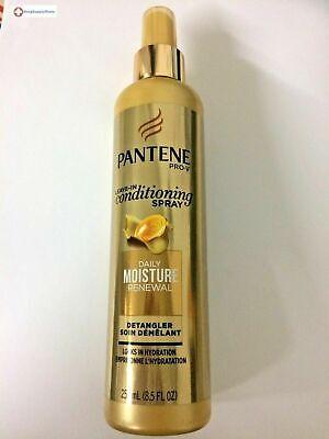 Pantene Pro-V Moisture Mist Detangler Light Conditioning 8.5 Fl Oz Detangling Light Conditioning Mist