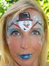 Christmas Face Painting Gold Coast Region Preview