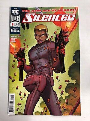 Silencer  1 First Print Dc Comics  2018  Dark Nights Metal New Age Of Heroes