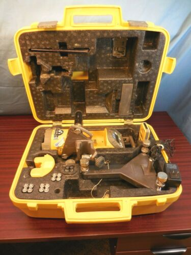 Topcon Red Beam Pipe Laser Model TP L5B  with Case