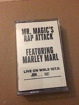 Mr Magic's Rap Attack W/ DJ Marley Marl Jan 1987 Cassette Mixtape 80s Tape