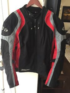 Balistic motorcycle jacket large