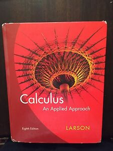 Calculus An Applied Approach 8th edition