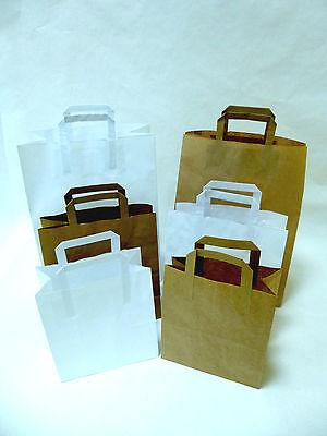 Papiertragetaschen mit Henkel Papierbeutel Papiertüten
