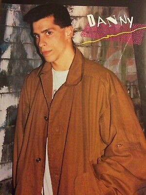 Danny Wood, New Kids on the Block, Joey McIntyre, Double Full Page Vintage Pinup