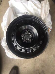 "5/100  steel winter rims  $200 OBO 16""rim"