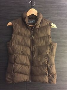 Brown small lady's vest