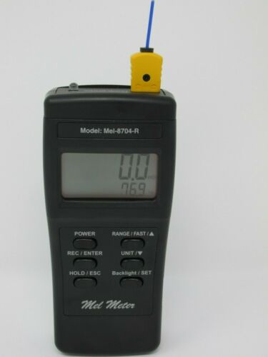 Mel Meter 8704R ProNavigator - EMF & Temperature