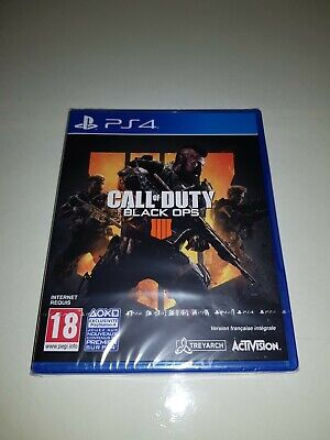 Jeu PS4 : CALL OF DUTY BLACK OPS 4 ( NEUF SOUS...