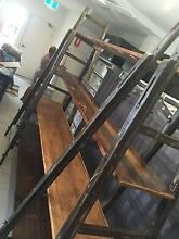 Antique Painters Ladder Display Unit Waverley Eastern Suburbs Preview