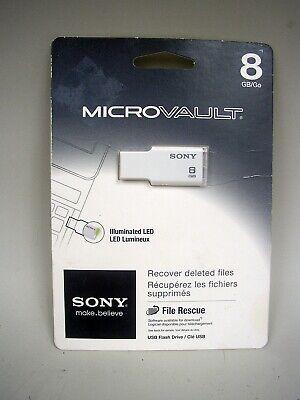 Sony 8GB Micro Vault M-Series USB 2.0 Flash Drive Usb 2.0 Micro Vault