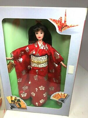 Mattel 1995 Barbie Japan Happy New Year Doll New in Box