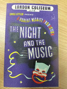 1946-Vintage-Theatre-Programme-The-NIGHT-and-the-MUSIC-at-Coliseum-Theatre