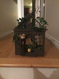Cage d'oiseau décorative