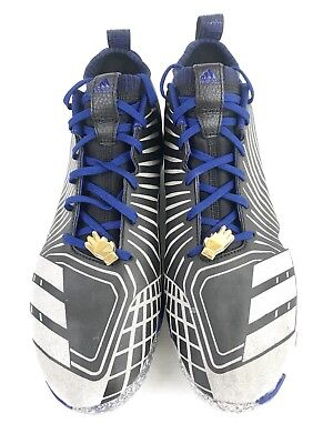 huge discount a2deb a4336 Adidas Boost Icon 3.0 Legend Pack Baseball Cleats Black Mens Size 11.5