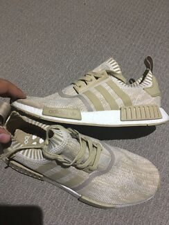 "Adidas NMD ""linen khaki"" 10.5"