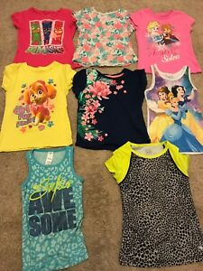 LOT GIRLS SUMMER CLOTHES SIZE 4/5