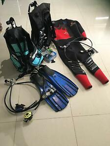 Scuba Diving Gear - most near new Campbelltown Campbelltown Area Preview