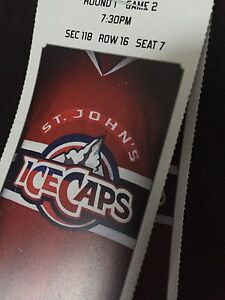 Ice Caps Tickets for Tonight!!