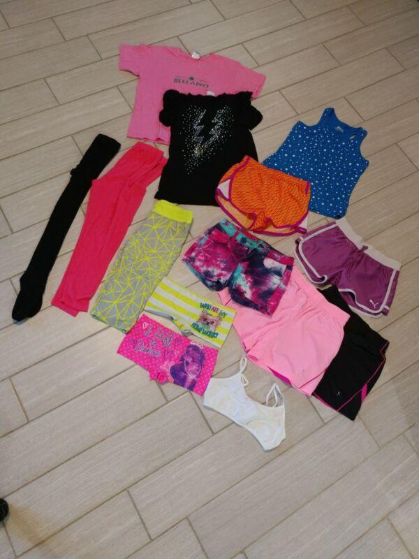 Girls Workout Dance Gymnastics Summer Lot Size Medium