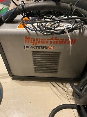 Hypertherm Powermax 30 Air 20 Ft Plasma Cutter Hand System - 088113 Old Model