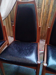 leather dining chairs x4 perfect condition Kingston South Canberra Preview