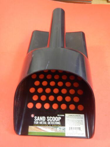 Sand Scoop BLACK NEW High Impact Plastic Metal Detecting Detector Gold Treasure