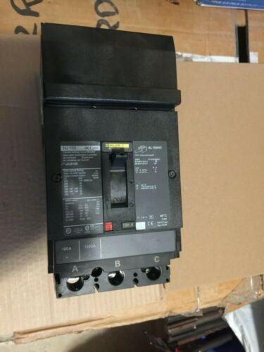 Square D PowerPact  Circuit Breaker Cat# HJA36100 600VAC, 480V 65kA