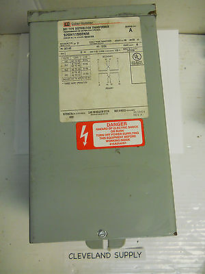 Cutler Hammer S20n11s02nm Dry Type Distribution Transformer 2kva Single Ph. New