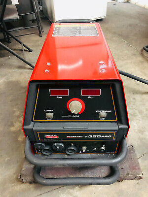 Lincoln Invertec V350-pro Cccv Multi-process Welder