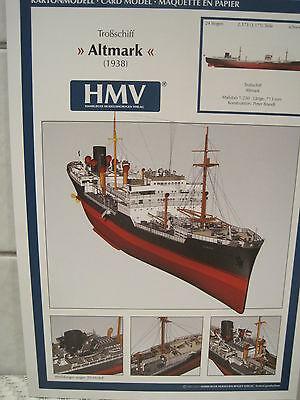 Altmark Troßschiff Schiff Kartonbausatz *NEU* Bastelbogen Kartonmodell