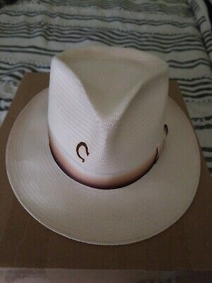 77fc0bdcd Charlie 1 horse straw hat, used