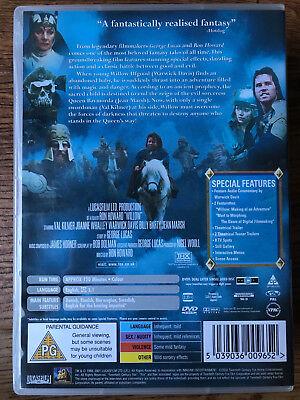 Val Kilmer Warwick Davis WILLOW ~ 1988 George Lucas Fantasy Epic THX UK DVD