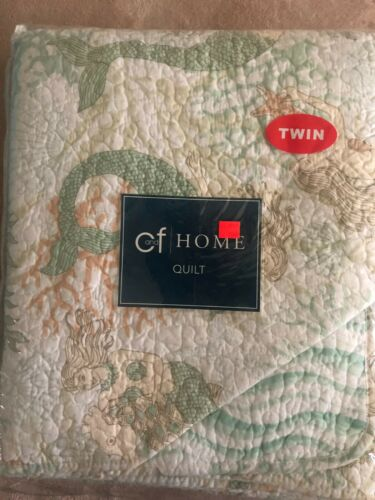 """C & F Home Mystic Echoes Reversible Twin Quilt 68"""" x 86"""""""
