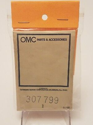 OMC Parts & Accessories Outboard Marine Corporation NOS Engine Overheated Panel