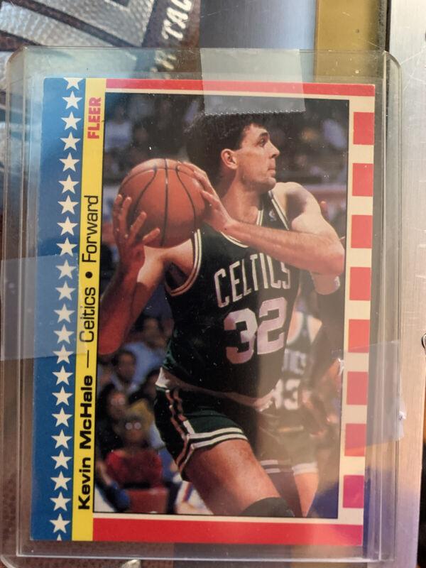No Kevin McHale 1987 Fleer Basketball Sticker Card 5 of 11