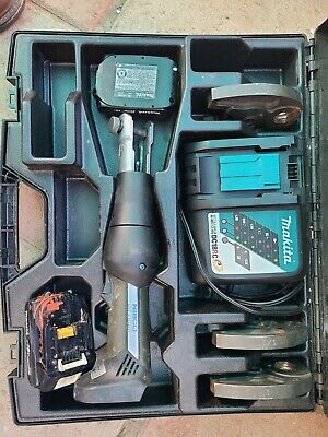 Nibco Crimper Model Pc-20m Pro Press Tool With Charger Case 2 Batteries